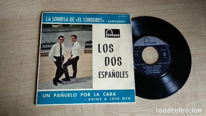 EP-LOS DOS ESPAÑOLES-1962-SPAIN- (Música - Discos de Vinilo - EPs - Grupos Españoles 50 y 60)