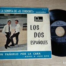 Discos de vinilo: EP-LOS DOS ESPAÑOLES-1962-SPAIN-. Lote 217533106