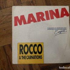 Discos de vinilo: ROCCO & THE CARNATIONS* – MARINA SELLO: DISQUES DÉESSE – 854-7 FORMATO: VINYL, 7 , 45 RPM, SINGLE. Lote 179016202