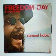 Discos de vinilo: SAMUEL HOBO - FREEDOM DAY, AZ DISC, 1972. FRANCE.. Lote 179016931