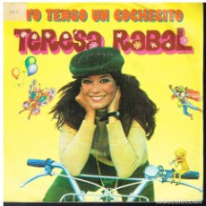 Discos de vinilo: TERESA RABAL - YO TENGO UN COCHECITO / VEO, VEO - SINGLE 1981 - PROMO. Lote 179017620