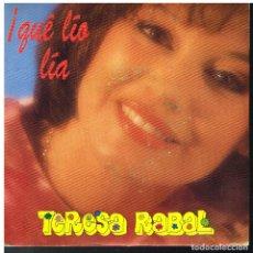 Discos de vinilo: TERESA RABAL - A LA PLAYA / PIM PAM POM - SINGLE 1991 - PROMO. Lote 179017710