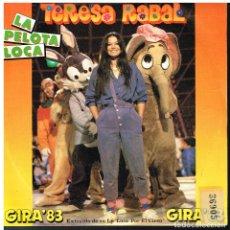 Discos de vinilo: TERESA RABAL - LA PELOTA LOCA / COMBA DE LOS NIÑOS - SINGLE 1983 - PROMO. Lote 179017988