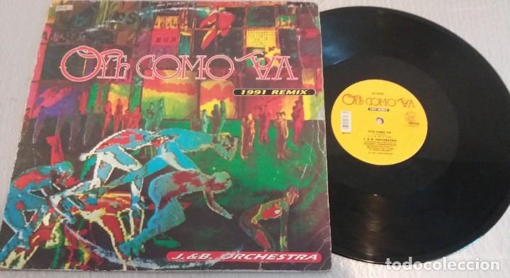 J. & B. ORCHESTRA / OYE COMO VA 1991 REMIX / MAXI-SINGLE 12 INCH (Música - Discos de Vinilo - Maxi Singles - Techno, Trance y House)