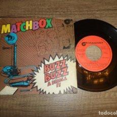 Discos de vinilo: MATCHBOX - BUZZ BUZZ A DIDDLE IT . Lote 179021981