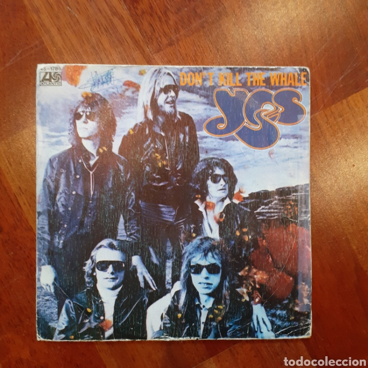 YES DONT KILL THE WHALE /ABILENE 45-1786 1978 SINGLE ESP. (Música - Discos - Singles Vinilo - Pop - Rock - Extranjero de los 70)