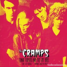 Discos de vinilo: THE CRAMPS - FRANK FURTHER AND THE HOT DOGS - LIVE AT CBGB'S 13-01-78. Lote 179028755