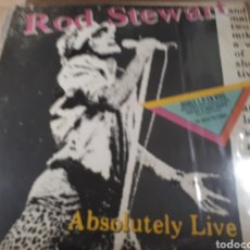 Discos de vinilo: ROD STEWART ABSOLUTELY LIVE DOBLE LP. Lote 179030603