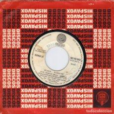 Discos de vinilo: BLACK SABBATH - WICKED WORLD + EVIL WOMAN SINGLE SIN PORTADA 1970 SPAIN. Lote 179031001