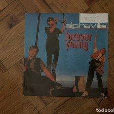 Discos de vinilo: ALPHAVILLE – FOREVER YOUNG SELLO: WEA – 24 9139-7, WEA – 249139-7 FORMATO: VINYL, 7 . Lote 179031312
