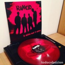 Discos de vinilo: RANCID - B SIDES AND C SIDES - CLEAR RED VINYL. Lote 179033442