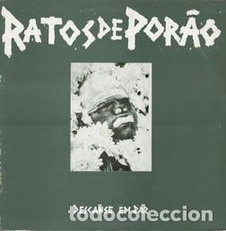 RATOS DE PORAO - DESCANSE EM PAZ - BLACK VINYL - GATEFOLD SLEEVE (Música - Discos - LP Vinilo - Punk - Hard Core)