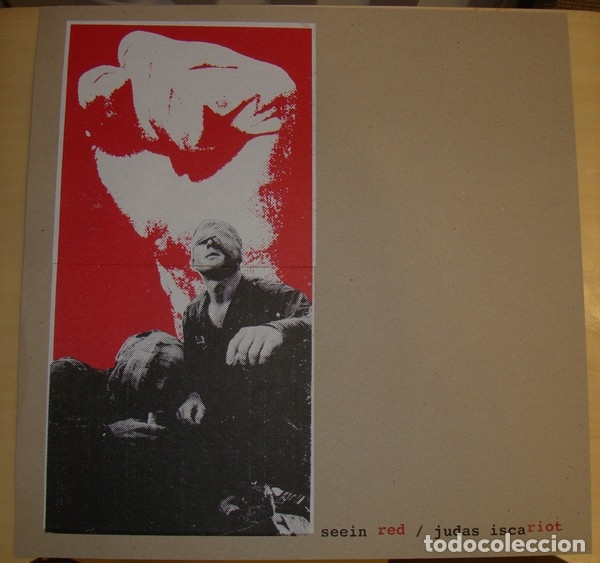 SEEIN RED / THE JUDAS ISCARIOT - JAPAN TOUR 2005 - LIMITED EDITION OF 60 COPIES (Música - Discos - LP Vinilo - Punk - Hard Core)