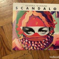 Discos de vinilo: GIANNA NANNINI – SCANDALO SELLO: POLYDOR – 877 802-7 FORMATO: VINYL, 7 , 45 RPM, SINGLE PAÍS: FRA. Lote 179035185