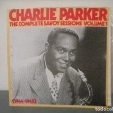 Discos de vinilo: CHARLIE PARKER - THE COMPLETE SAVOY SESSIONS VOLUME 1. Lote 179036156