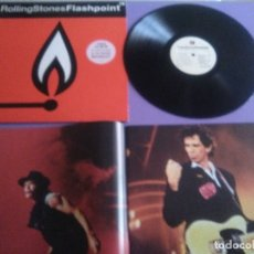 Discos de vinilo: GENIAL LP ORIGINAL.THE ROLLING STONE.FLASHPOINT+ESPECTACULAR LIBR0 12 HOJAS CON FOTOS.SPAIN 1991.CBS. Lote 179036338
