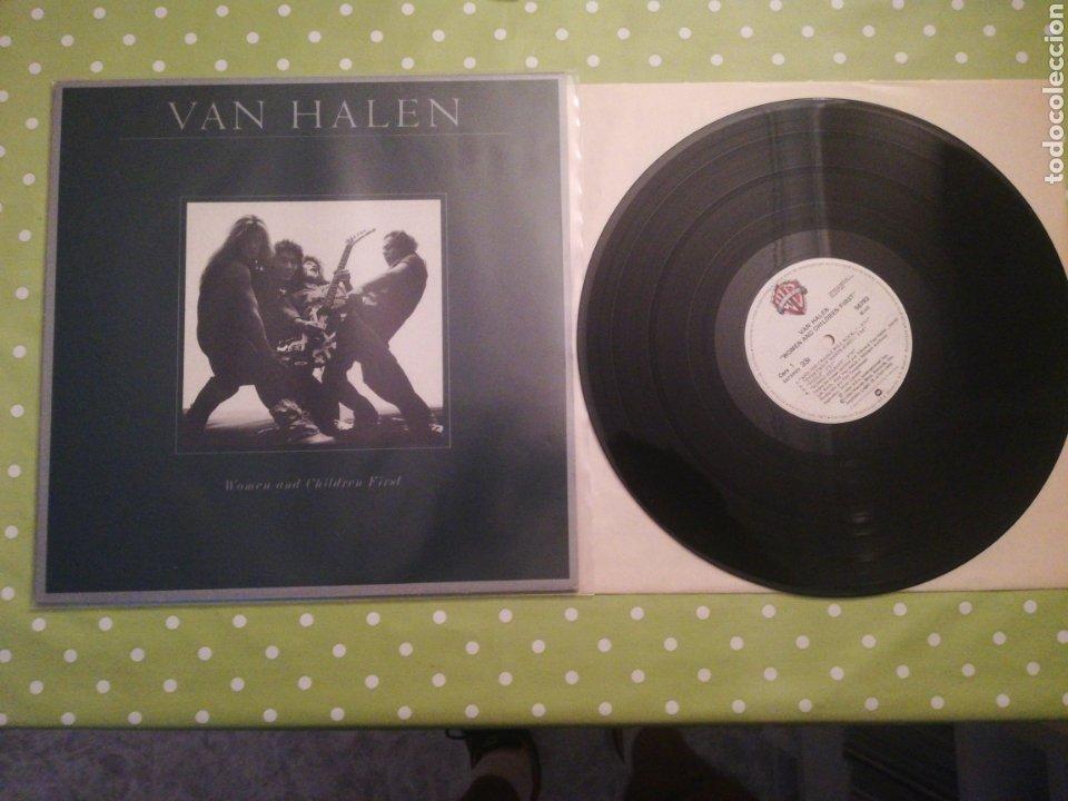 VINILO DE VAN HALEN - WOMEN AND CHILDREN FIRST (Música - Discos - LP Vinilo - Heavy - Metal)