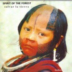 Discos de vinilo: SPIRIT THE FOREST - SALVAR LA TIERRA SINGLE PROMO 1992 SPAIN. Lote 179038460