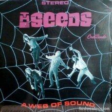 Discos de vinilo: THE SEEDS A WEB OF SOUND 2XLP (GATEFOLD) . SKY SAXON GARAGE ARTHUR LEE LOVE. Lote 179042235