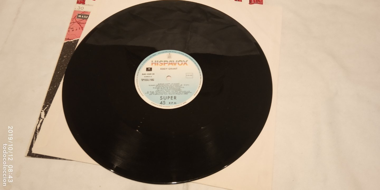Discos de vinilo: EDDY GRANT -GIMME HOP JO'ANNA- (1988) MAXI-SINGLE - Foto 4 - 179043867