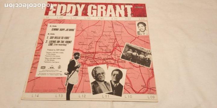 Discos de vinilo: EDDY GRANT -GIMME HOP JO'ANNA- (1988) MAXI-SINGLE - Foto 6 - 179043867