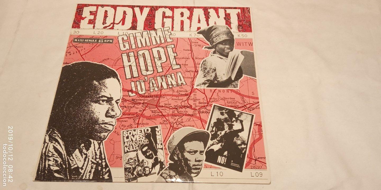 EDDY GRANT -GIMME HOP JO'ANNA- (1988) MAXI-SINGLE (Música - Discos de Vinilo - Maxi Singles - Reggae - Ska)