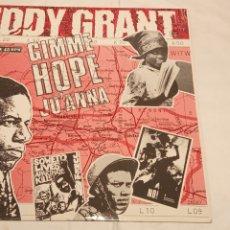 Discos de vinilo: EDDY GRANT -GIMME HOP JO'ANNA- (1988) MAXI-SINGLE. Lote 179043867