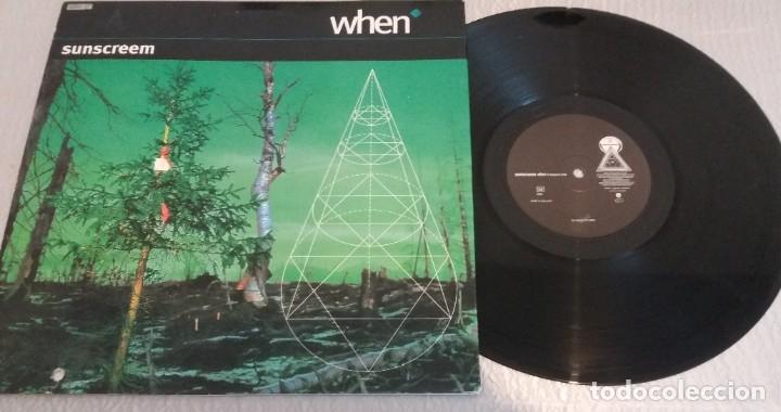 WHEN / SUNSCREEM / MAXI-SINGLE 12 INCH (Música - Discos de Vinilo - Maxi Singles - Techno, Trance y House)