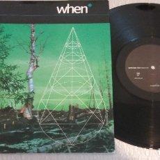 Discos de vinilo: WHEN / SUNSCREEM / MAXI-SINGLE 12 INCH. Lote 179045545