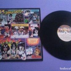 Discos de vinilo: GENIAL LP. KISS - UNMASKED. SPAIN AÑO 1980 . SELLO CASABLANCA .REF 63 02 032. Lote 179046028
