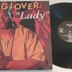 Discos de vinilo: KING LOVER / LADY / MAXI-SINGLE 12 INCH. Lote 179046277