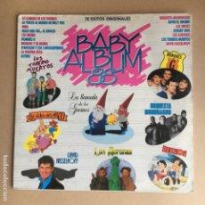 Discos de vinilo: VINILOS BABY ALBUM 88 - DOBLE LP CON 18 CANCIONES INFANTILES. Lote 179048738