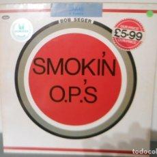Disques de vinyle: BOB SEGER - SMOKIN O.P.S.. Lote 179052390