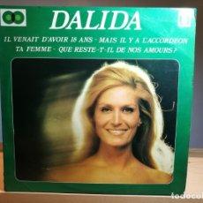 Disques de vinyle: DALIDA LP X2 VINILO 1974 COMPILATION OMEGA INTERNATIONAL BÉLGICA. Lote 179052467
