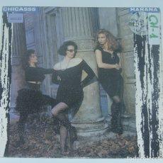 Discos de vinilo: CHICASSS. MAÑANA. ANY WAY I CAN. 1989. ED. MERCURY.. Lote 179052950