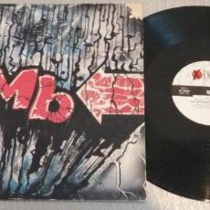 Discos de vinil: M. B. / FAST AND SLOW / MAXI-SINGLE 12 INCH. Lote 179054265