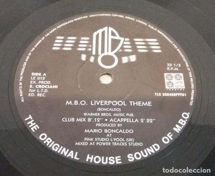 M.B.O. LIVERPOOL THEME / MAXI-SINGLE 12 INCH (Música - Discos de Vinilo - Maxi Singles - Techno, Trance y House)
