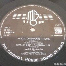 Discos de vinilo: M.B.O. LIVERPOOL THEME / MAXI-SINGLE 12 INCH. Lote 179055988