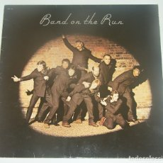 Discos de vinilo: PAUL MCCARTNEY & WINGS - BAND ON THE RUN - PATHE MARCONI FRANCE - VINILO AMARILLO. Lote 179056332