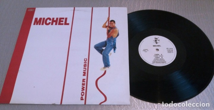 MICHEL / POWER MUSIC / MAXI-SINGLE 12 INCH (Música - Discos de Vinilo - Maxi Singles - Techno, Trance y House)
