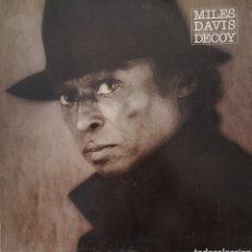 Discos de vinilo: MILES DAVIS DECOY - ESTADO ESPECTACULAR. Lote 179058108