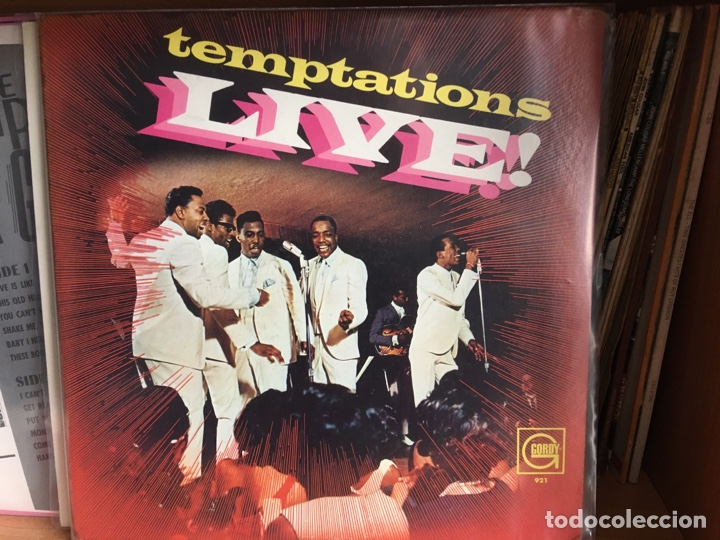 THE TEMPTATIONS - TEMPTATIONS LIVE! (LP, ALBUM, MONO) (GORDY)GLP-921 PRIMERA ED USA EX (Música - Discos - LP Vinilo - Funk, Soul y Black Music)