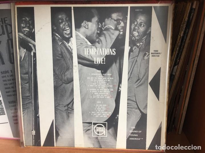 Discos de vinilo: The Temptations - Temptations Live! (LP, Album, Mono) (Gordy)GLP-921 PRIMERA ED USA EX - Foto 2 - 179059513