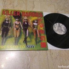 Discos de vinilo: THE KILLER BARBIES – DRESSED TO KISS -LP-1995- SUBTERFUGE RECORDS – 21-065-NM/ NM/ COMO NUEVO. Lote 179062987