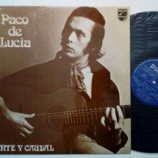 Discos de vinilo: LP: PACO DE LUCIA - FUENTE Y CAUDAL (PHILIPS, 1973). Lote 179067648