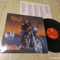 Discos de vinilo: ÑU -VAMOS AL LIO - LP - BARRABAS-1988-, HARD ROCK-PROGRESIVO-NM / NM/ COMO NUEVO. Lote 179068285