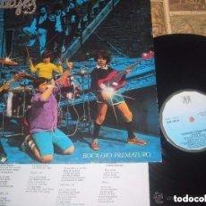 Discos de vinilo: SALVAJES ROCKERO PREMATURO LP(BELTER-1982) OG ESPAÑA LEA DESCRIPCION. Lote 179070480