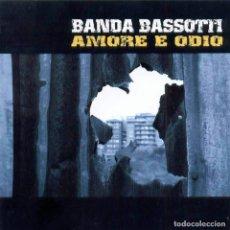Discos de vinilo: BANDA BASSOTTI - AMORE E ODIO - COMBAT ROCK - SKA -. Lote 210344522