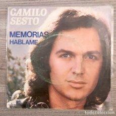 Discos de vinilo: CAMILO SESTO - MEMORIAS. Lote 179077320