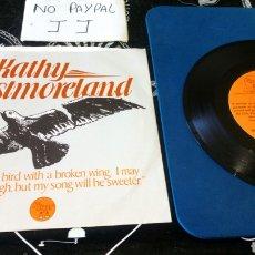 Discos de vinilo: KATHY WESTMORELAND AGE OF WOMAN RÉCORDS ELVIS PRESLEY MEMORIAL FOUNDATION INEDITO EN TC CON FIRMA. Lote 179077362